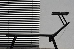 RIMINI CLASSIC Sonnenliege schwarz/schwarz
