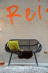 YARA 2-Sitzer Bank wengefarben