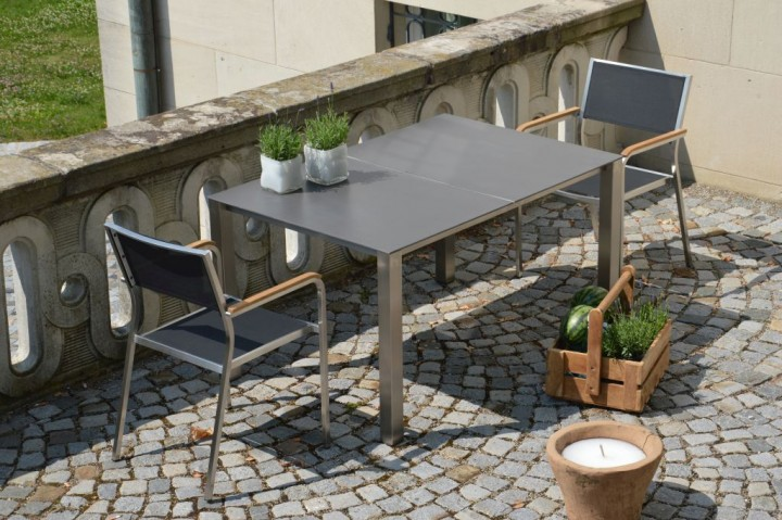 lux base tisch 2 platten gartentische outdoor jan. Black Bedroom Furniture Sets. Home Design Ideas