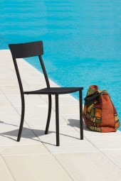 Newtown Stapestuhl schwarz