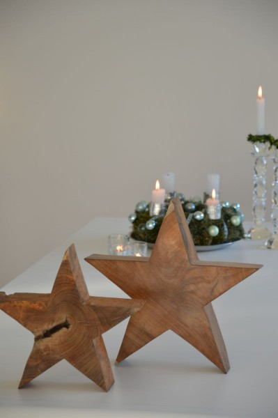STAR Weihnachtsdekoration Teak massiv
