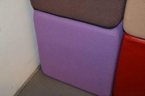 SITTING Sitzwürfel Policolor flieder