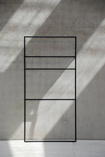 LOOP UP Handtuchleiter/Kleiderleiter schwarz