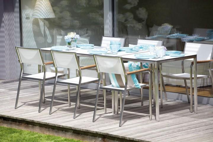 lux stapelsessel gartenst hle outdoor jan kurtz neuware d4c m bel outlet. Black Bedroom Furniture Sets. Home Design Ideas