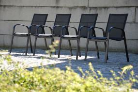 FUNNY Sessel schwarz/schwarz