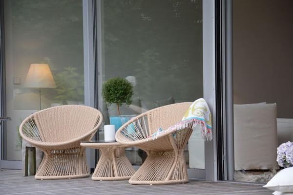 RAY LOUNGE Sessel beige-melliert