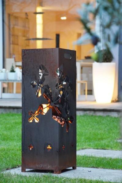 CADIZ Feuerstelle mit Unterstellschale