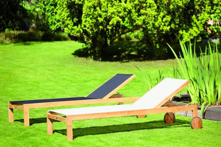 sonoma liege teak sonnenliegen outdoor jan kurtz neuware d4c m bel outlet. Black Bedroom Furniture Sets. Home Design Ideas