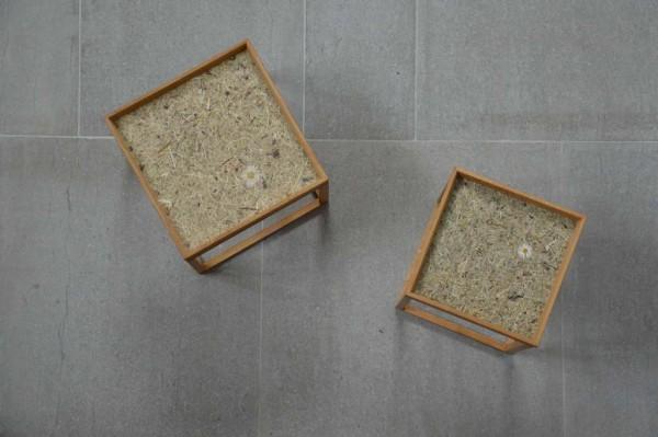 PINO ALP Beistelltisch (H x B x T) 45 x 40 x 40 cm