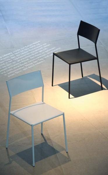 LINE Stuhl schwarz/schwarz