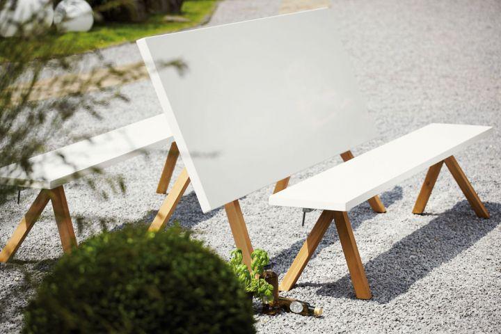 nanoo bank robinie gartenb nke outdoor jan kurtz neuware d4c m bel outlet. Black Bedroom Furniture Sets. Home Design Ideas