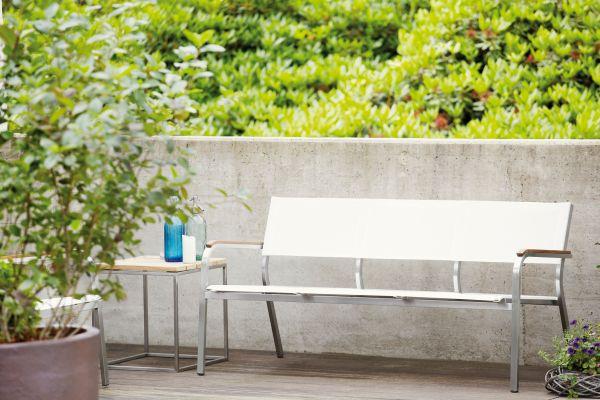 LUX XL Lounge Bank 3-Sitzer weiß