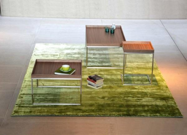 PIZZO/CLASSICO/DINA Couchtischtischgestell lunasilber 60x60 cm