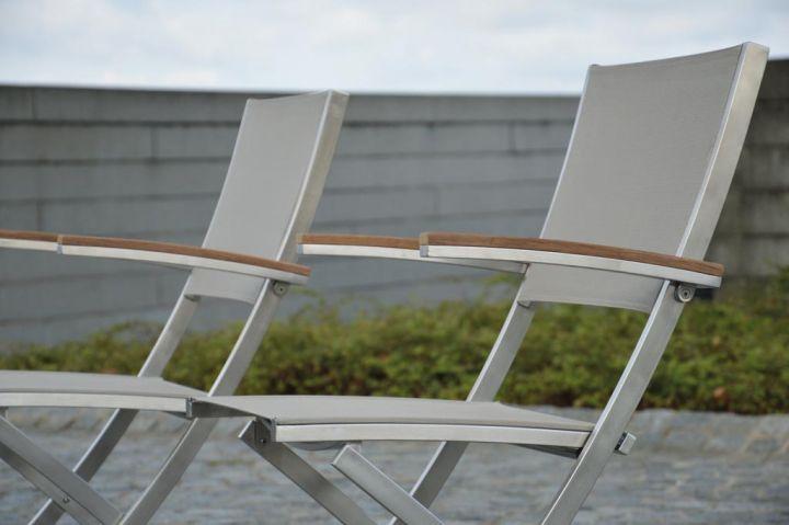 lux balcony klappstuhl gartenst hle outdoor jan kurtz neuware d4c m bel outlet. Black Bedroom Furniture Sets. Home Design Ideas