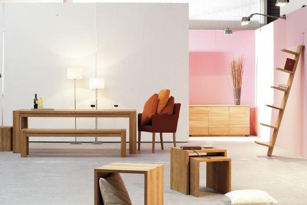 VALENTINO Tisch Eiche 180 cm