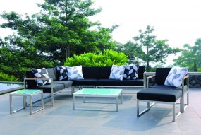 LUX LOUNGE Sofa 2-sitzer Armlehne links